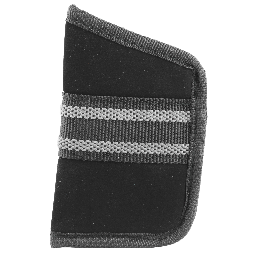 Bulldog Cases Medium Right Hand Nylon Pocket Holster - Black-img-1