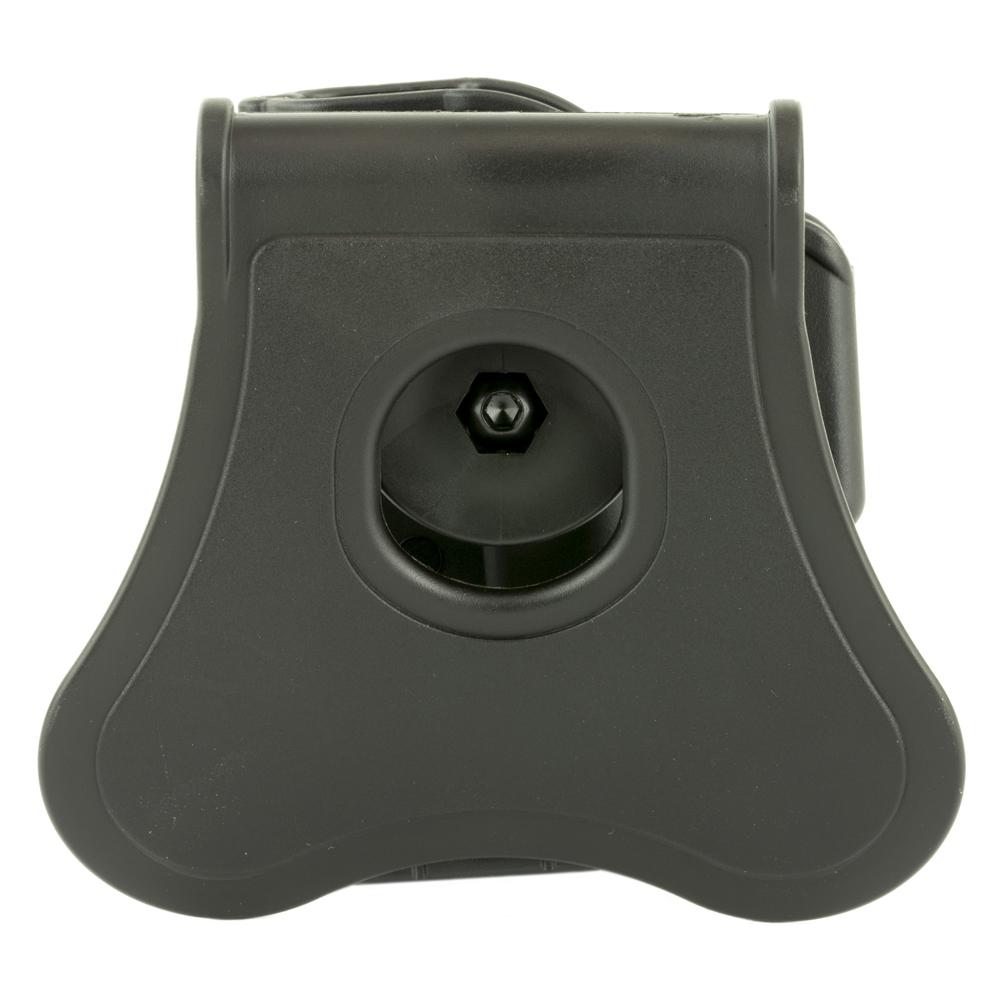 Bulldog Cases Glock 43 Rapid Release Right Hand Polymer Hip Holster - Black-img-1
