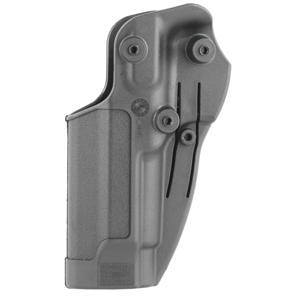 BLACKHAWK Beretta 92/96 (not Elite/Brig/92A1) CQC SERPA Right Hand Polymer -img-1