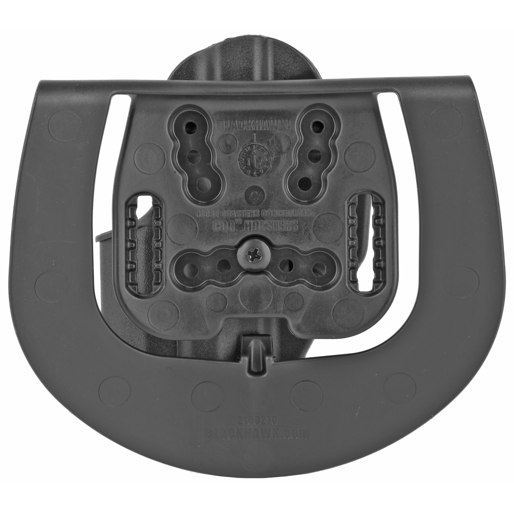 BLACKHAWK HK USP Cmp CQC SERPA Right Hand Polymer Belt Holster - Black-img-1
