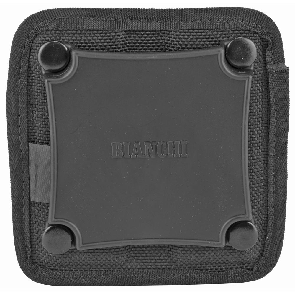 Bianchi Size 2 7320 AccuMold Triple Threat Nylon Magazine Pouch - Black-img-1