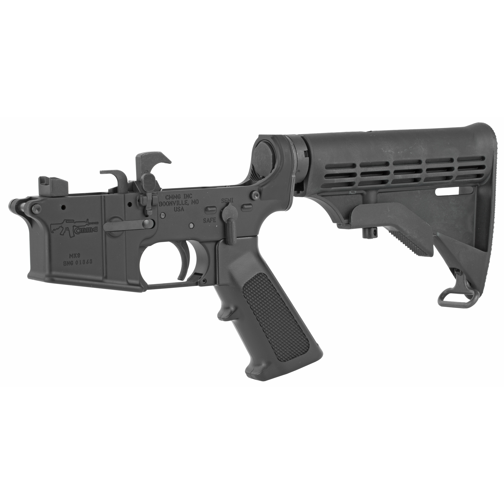 CMMG Resolute 100 Complete Lower Receiver 9MM - Black-img-2