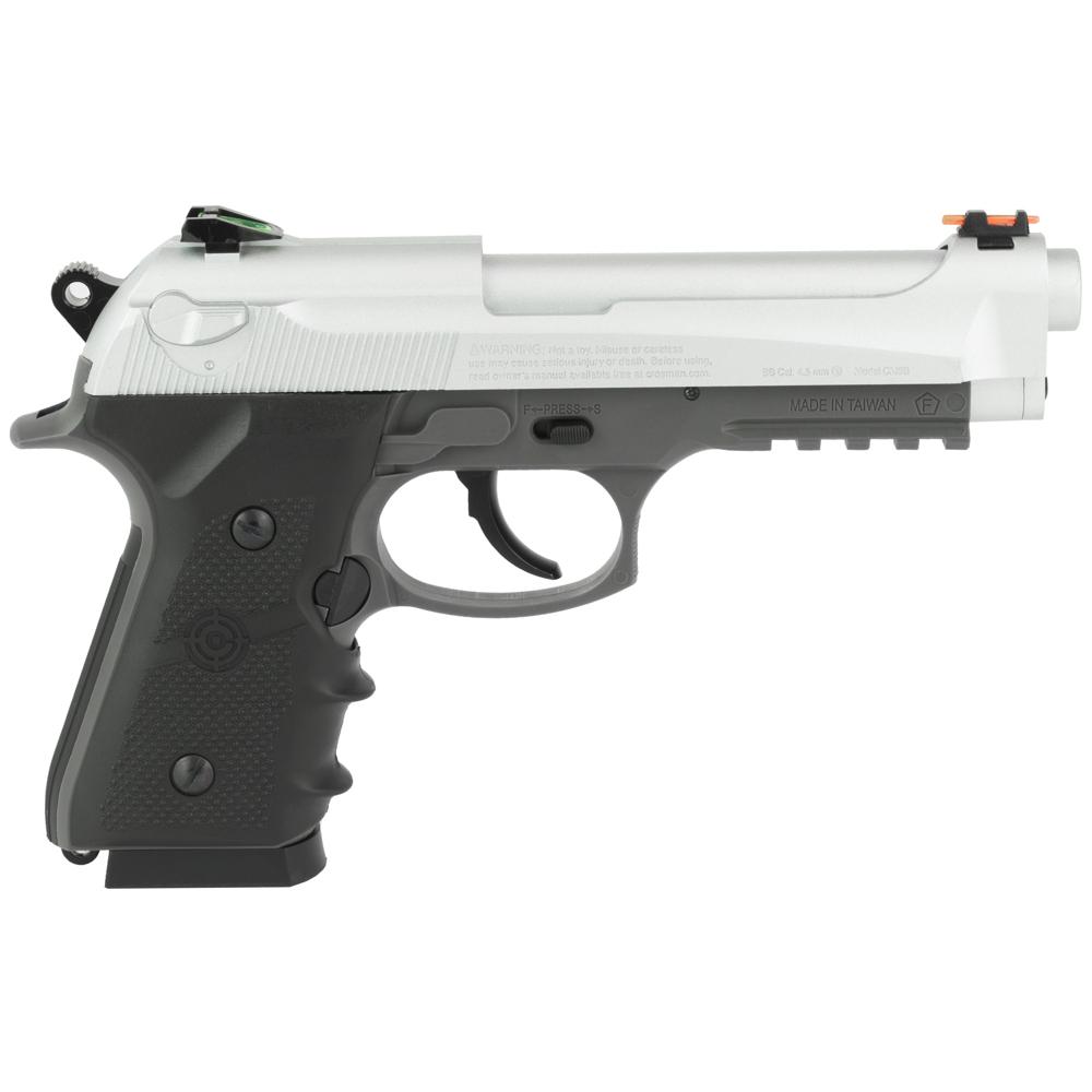 Crosman Mako BB CO2 Pistol 450FPS - Silver-img-1