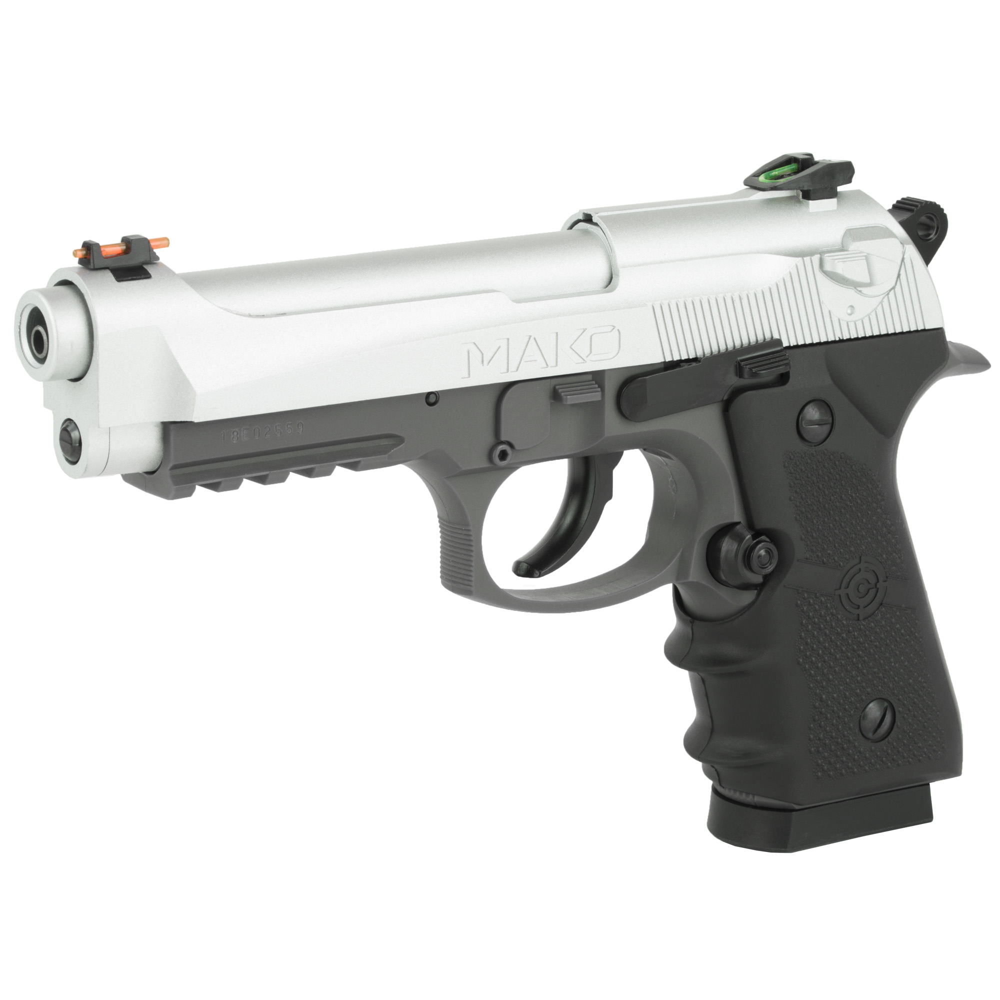 Crosman Mako BB CO2 Pistol 450FPS - Silver-img-2