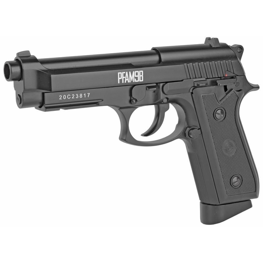 "Crosman BB Air Pistol 5"" CO2 Pistol 20rd 400FPS - Black-img-2"