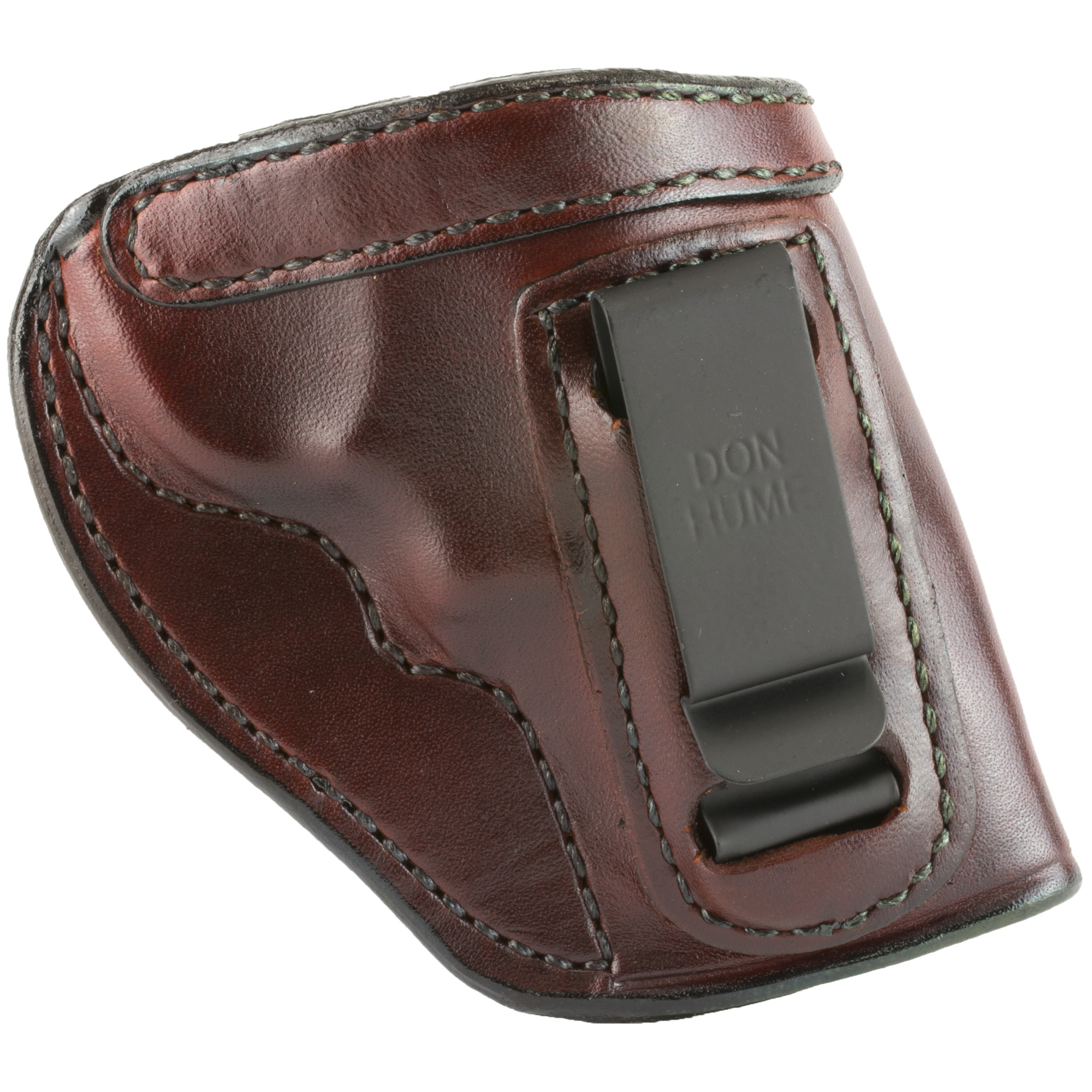 Don Hume Ruger SP101 H715M Right Hand Leather Holster - Brown-img-1