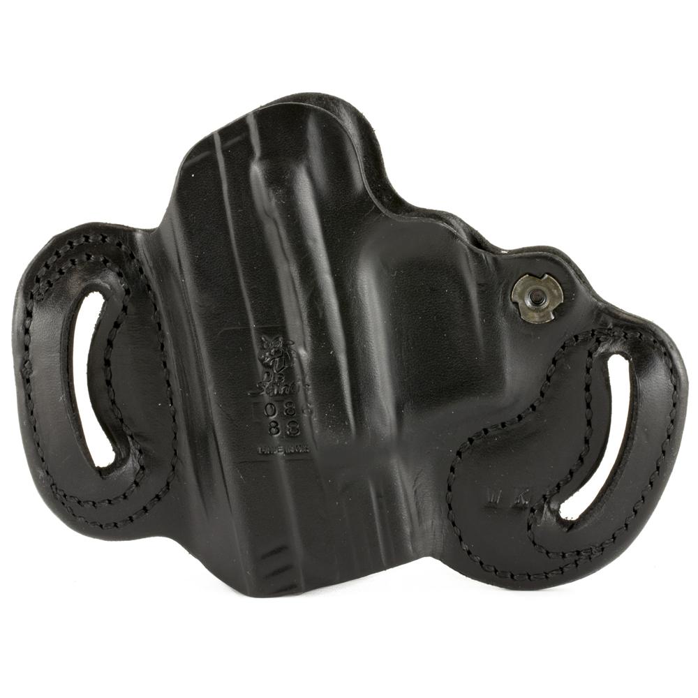 DeSantis XD 9/40/45 086 Mini Slide Right Hand Leather Belt Holster - Black-img-1