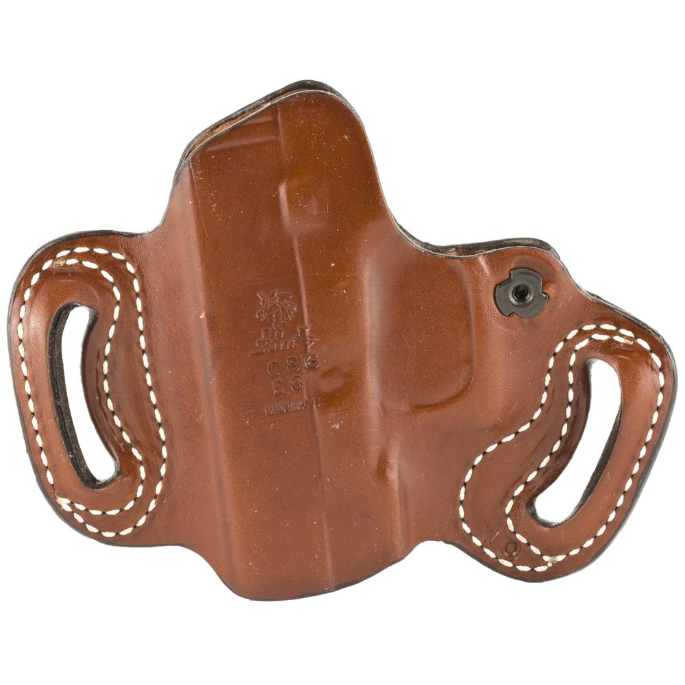 DeSantis Glock 20/21 086 Mini Slide Right Hand Leather Belt Holster - Tan-img-1