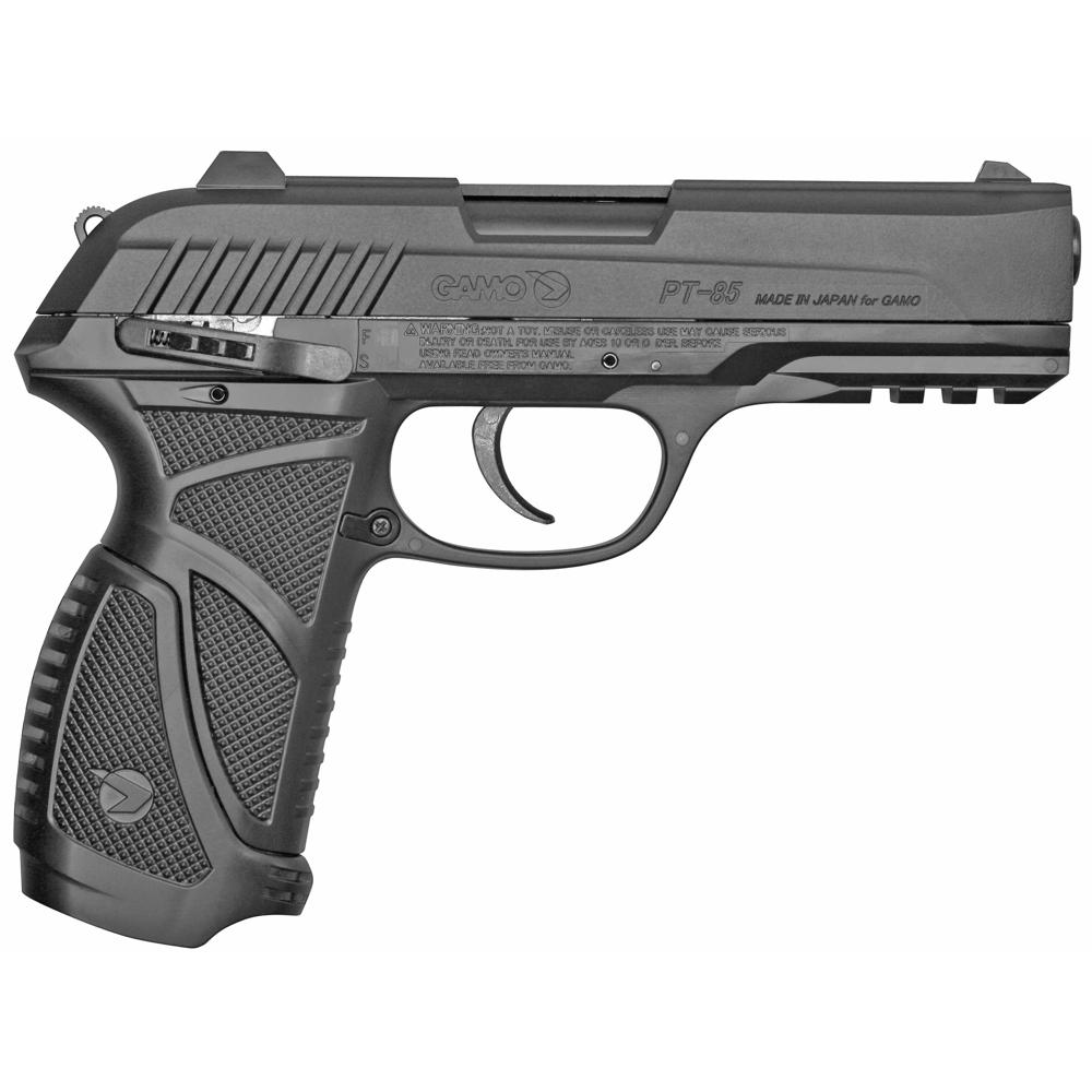 """Gamo PT-85 .177 Cal Pellet 6.5"""" Air Pistol 16rd 450FPS - Black-img-1"""