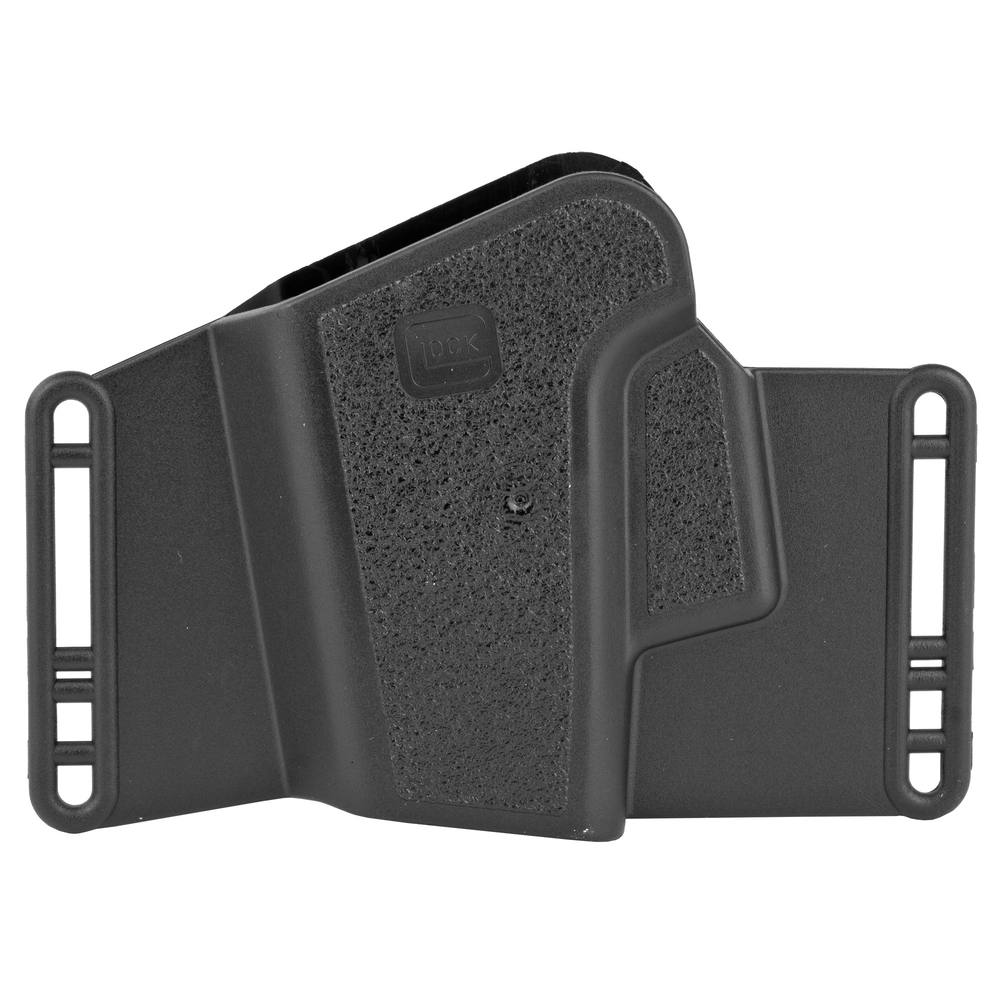 "Glock Glock 20/21 Sport/Combat 4.5"" Ambidextrous Polymer Holster - Black-img-1"