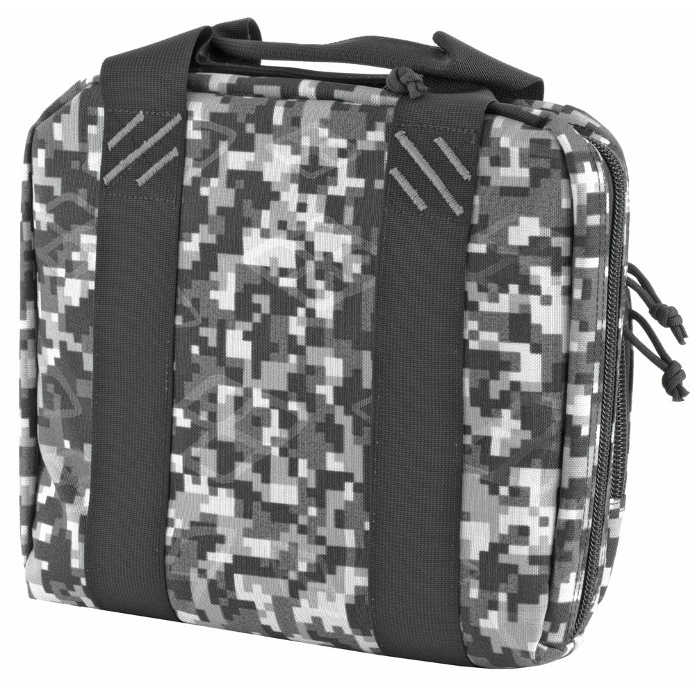 G-Outdoors Tactical Double Pistol Case Nylon Range Bag Up To 2 Pistols - Gr-img-1