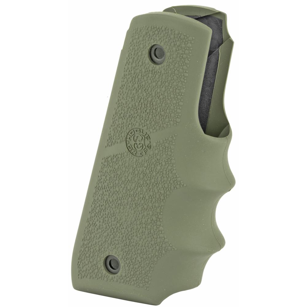 Ruger 22/45 MKIV OD Green Rubber Grip w/ Finger Grooves-img-1