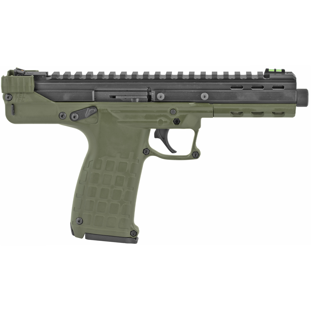 "Kel-Tec CP33 5.5"" 22 LR 33rd Adjustable Sights - Green, Black-img-1"