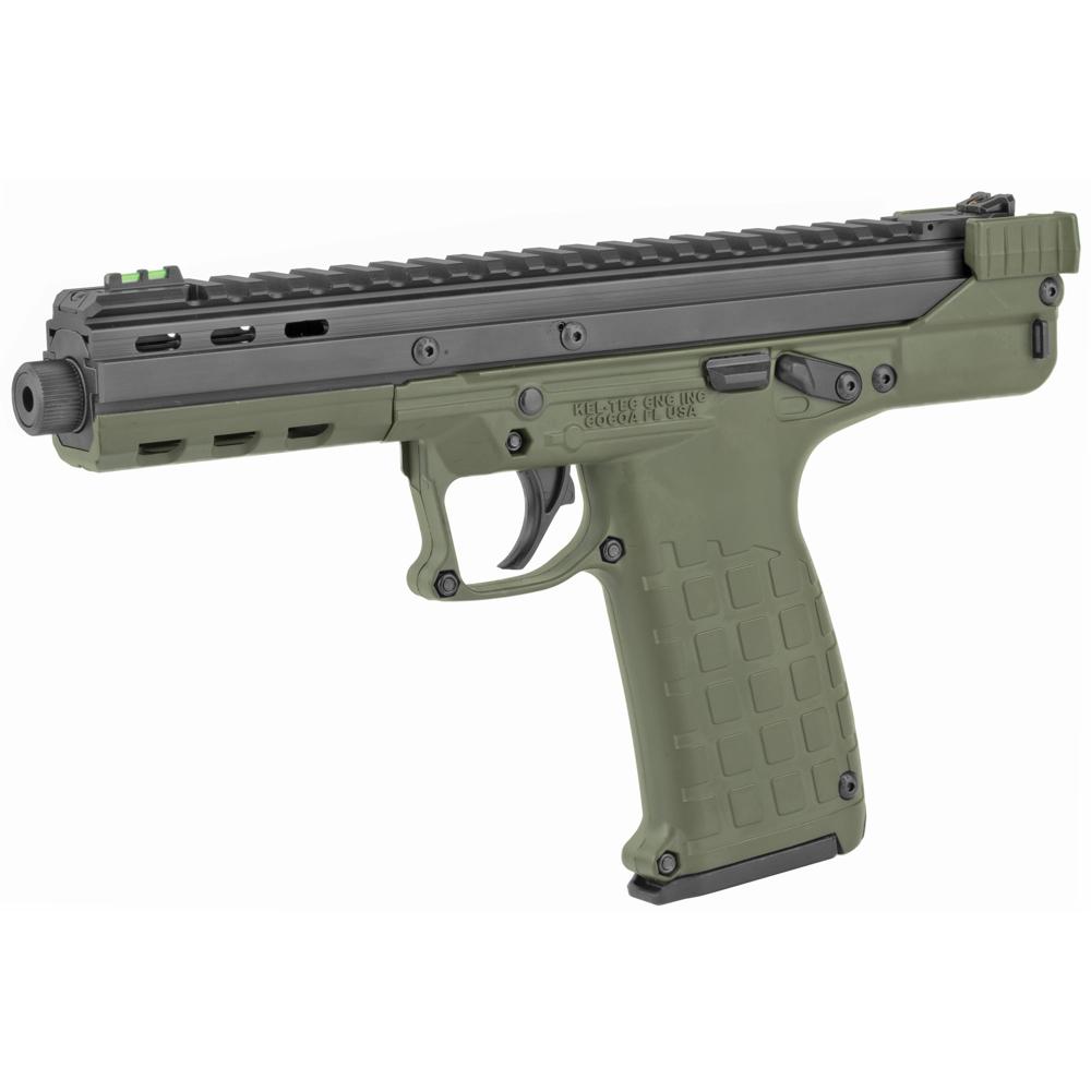 "Kel-Tec CP33 5.5"" 22 LR 33rd Adjustable Sights - Green, Black-img-2"