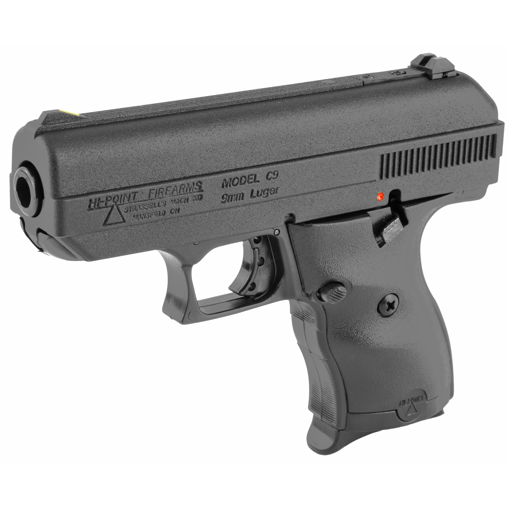 "Hi-Point C-9 Striker Fired 3.5"" 9mm 8rd 3 Dot - Black-img-2"