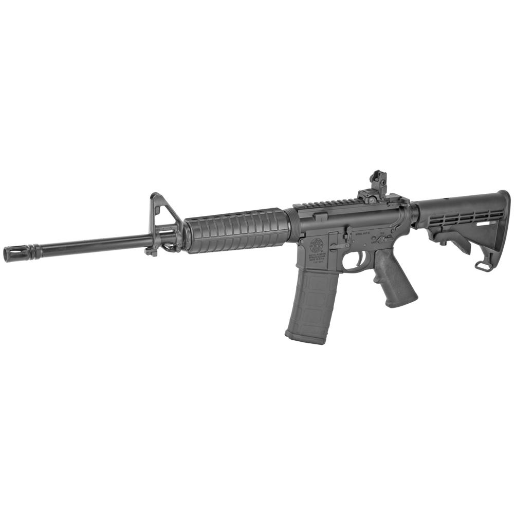 "Smith & Wesson M&P 15 Sport II AR 16"" 5.56 NATO 30rd Flip Up Rear - Black-img-2"