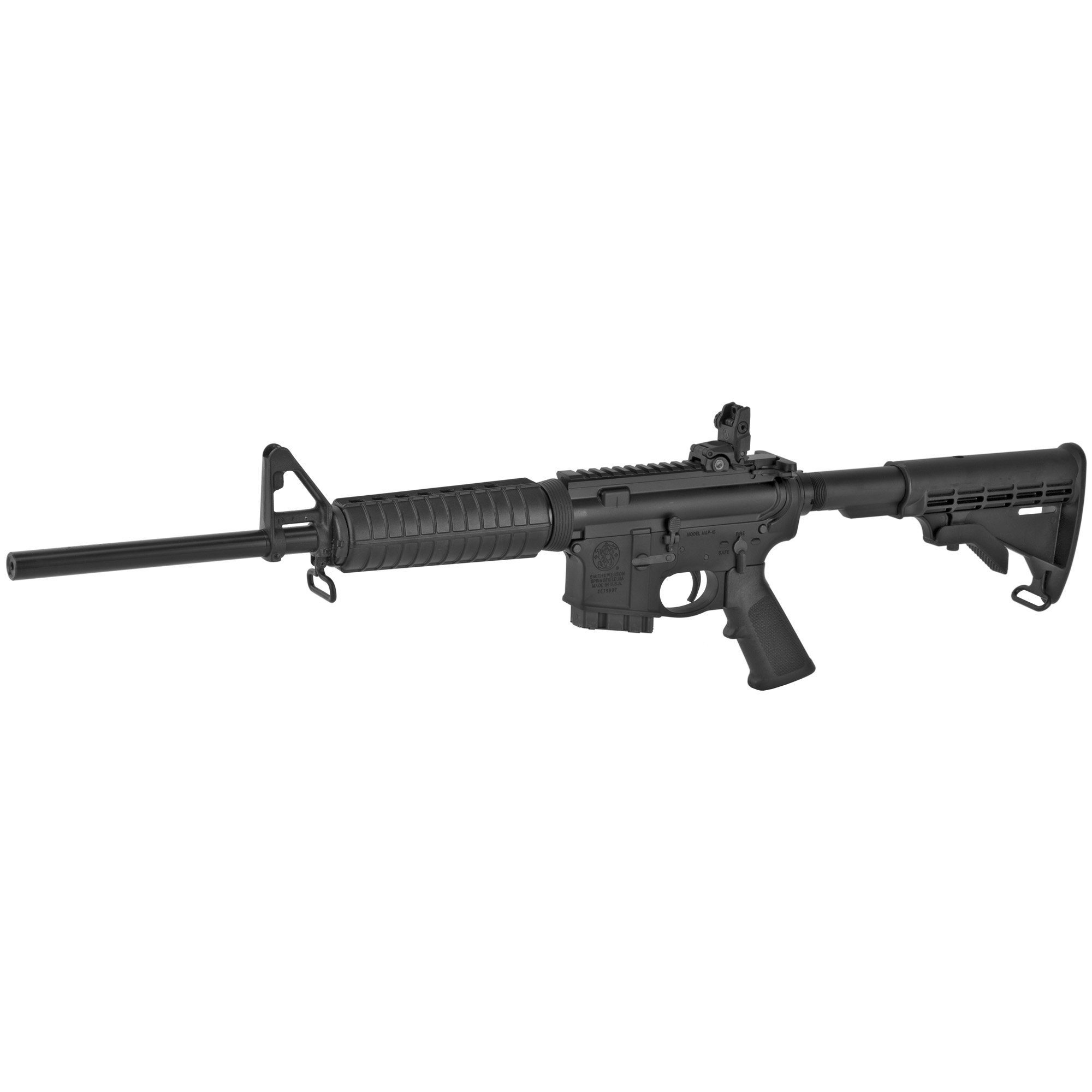 "Smith & Wesson M&P 15 Sport II AR 16"" 5.56 NATO 10rd Flip Up Rear - Black-img-2"