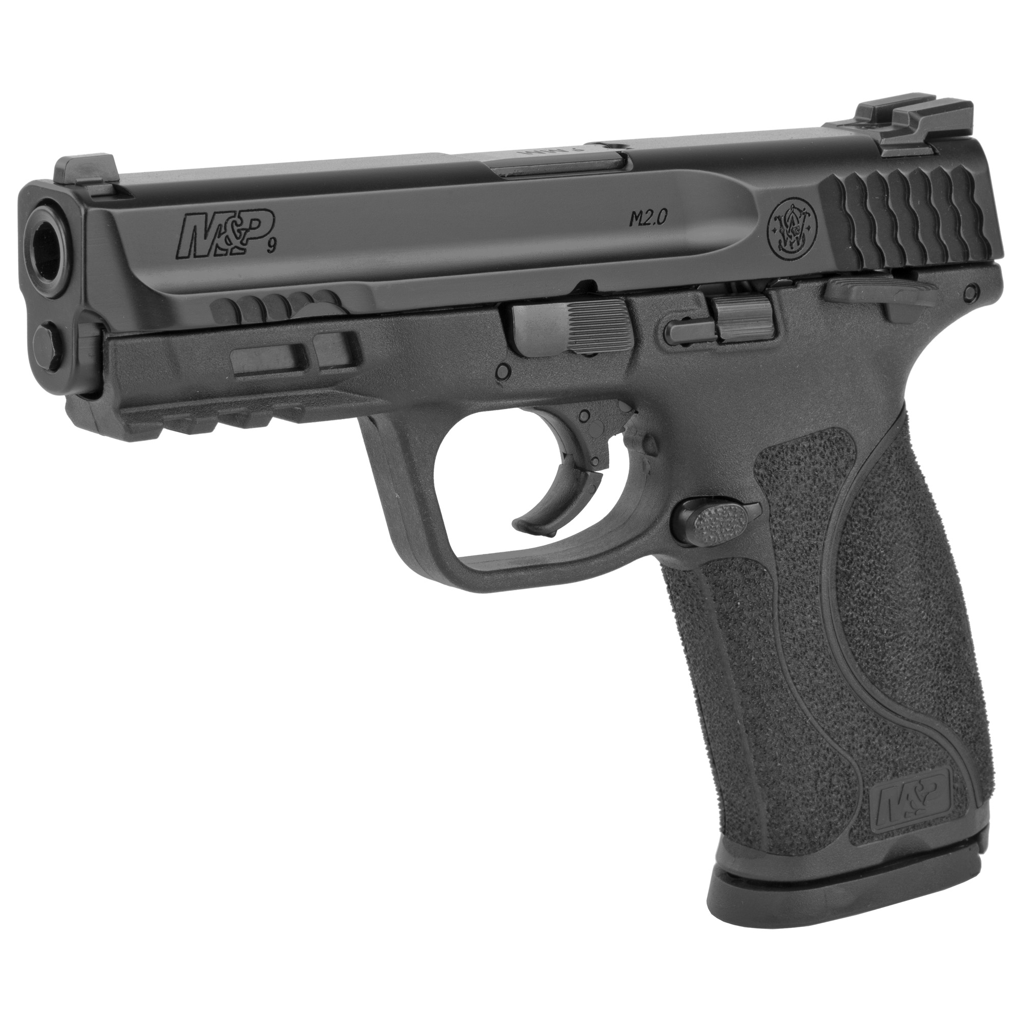 """Smith & Wesson M&P 2.0 Striker Fired 4.25"""" 9mm 17rd Fixed Sights - Black-img-2"""