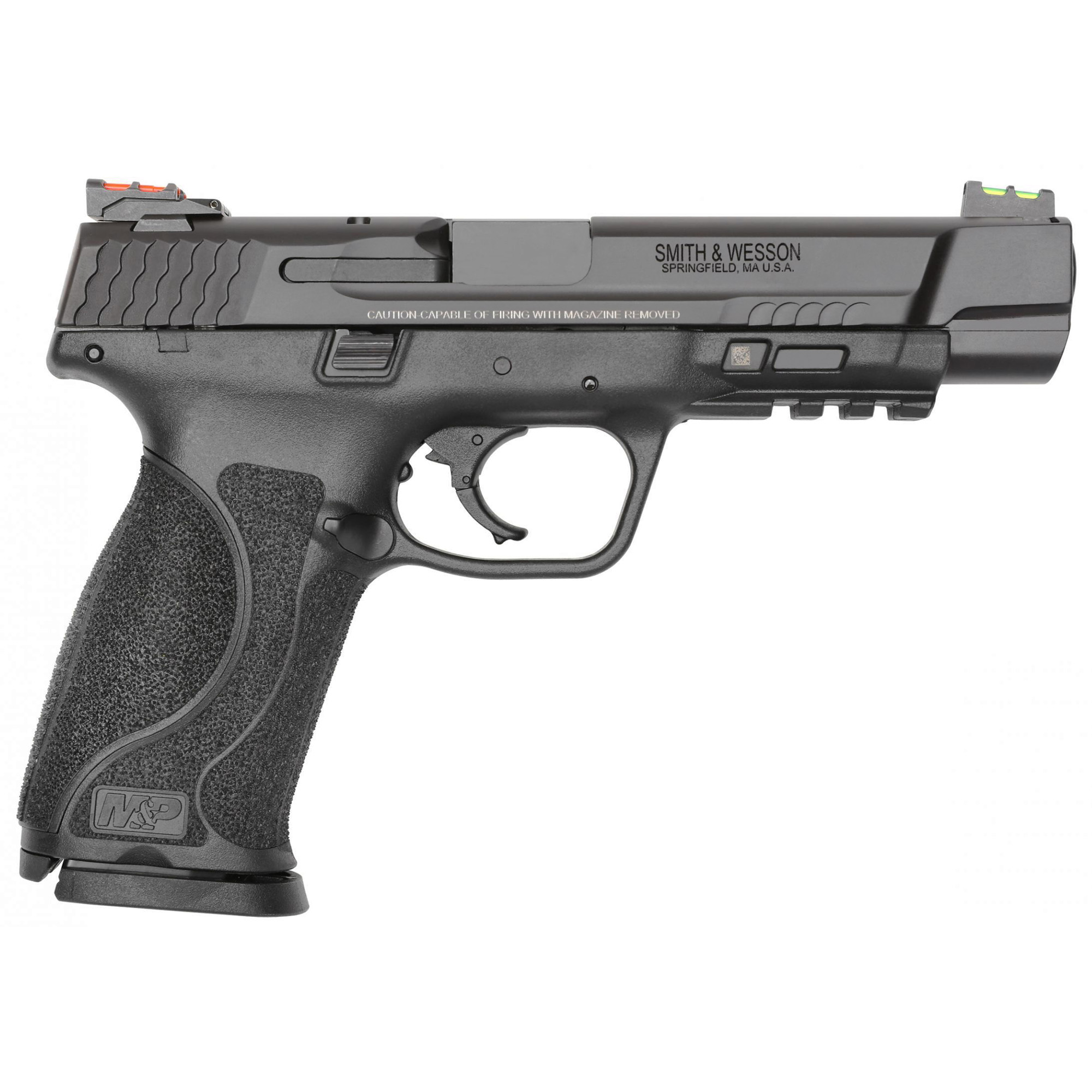"""Smith & Wesson M&P 2.0 Performance Center Pro Series Striker Fired 5"""" 9mm 1-img-1"""