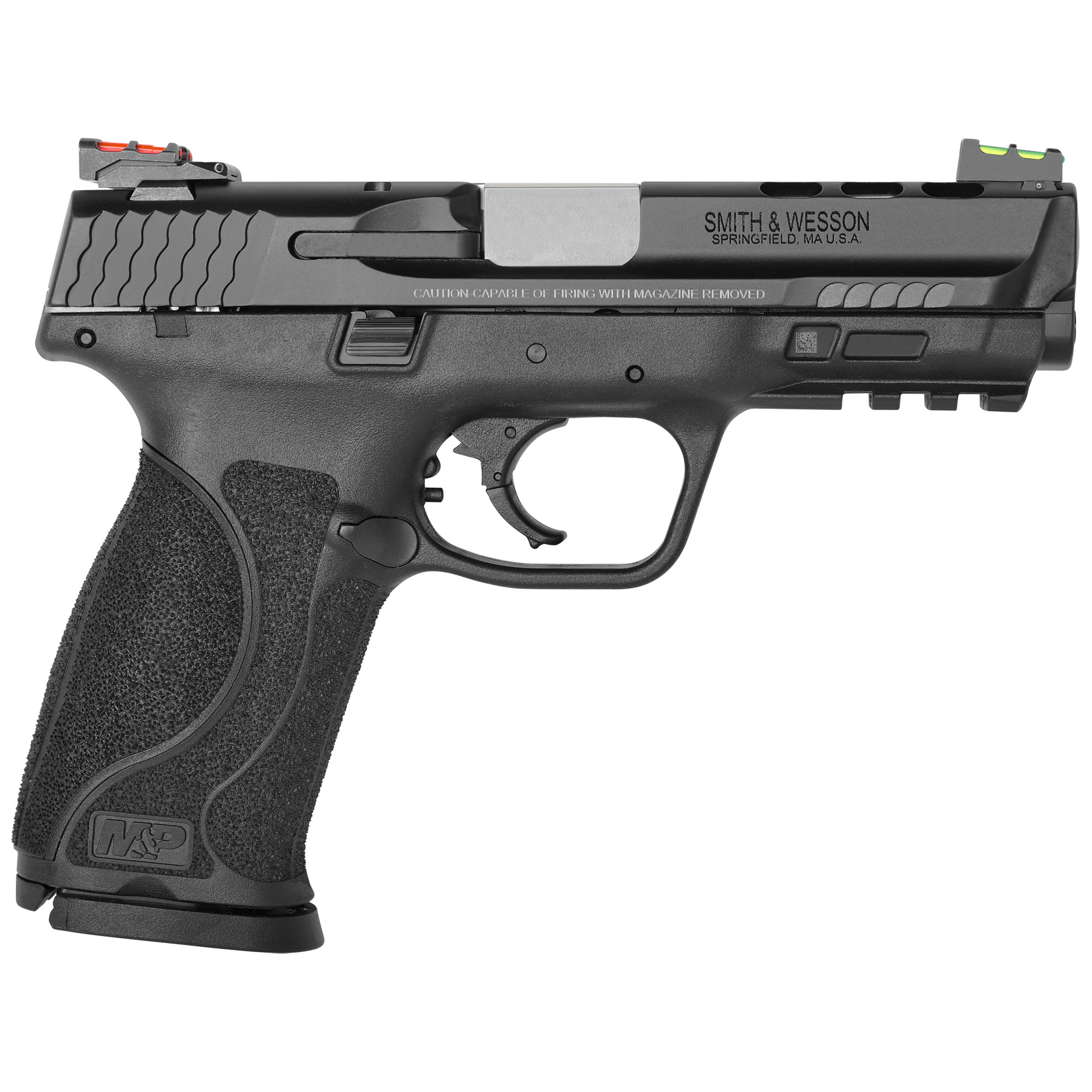 """Smith & Wesson M&P 2.0 Performance Center Striker Fired 4.25"""" 9mm 17rd Fibe-img-1"""