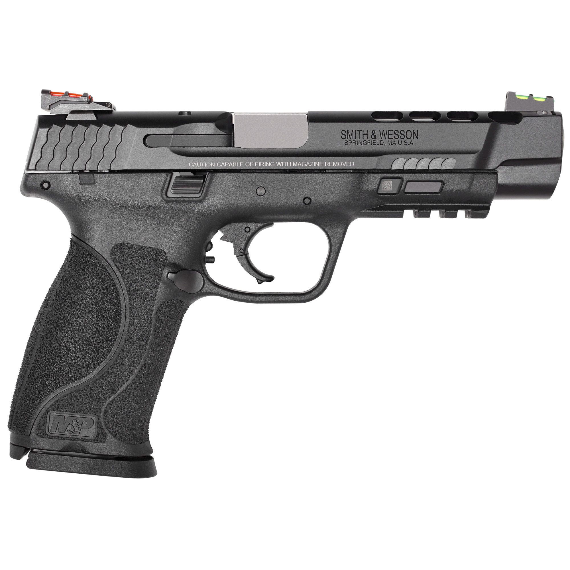 """Smith & Wesson M&P 2.0 Performance Center Striker Fired 5"""" 9mm 17rd Fiber O-img-1"""