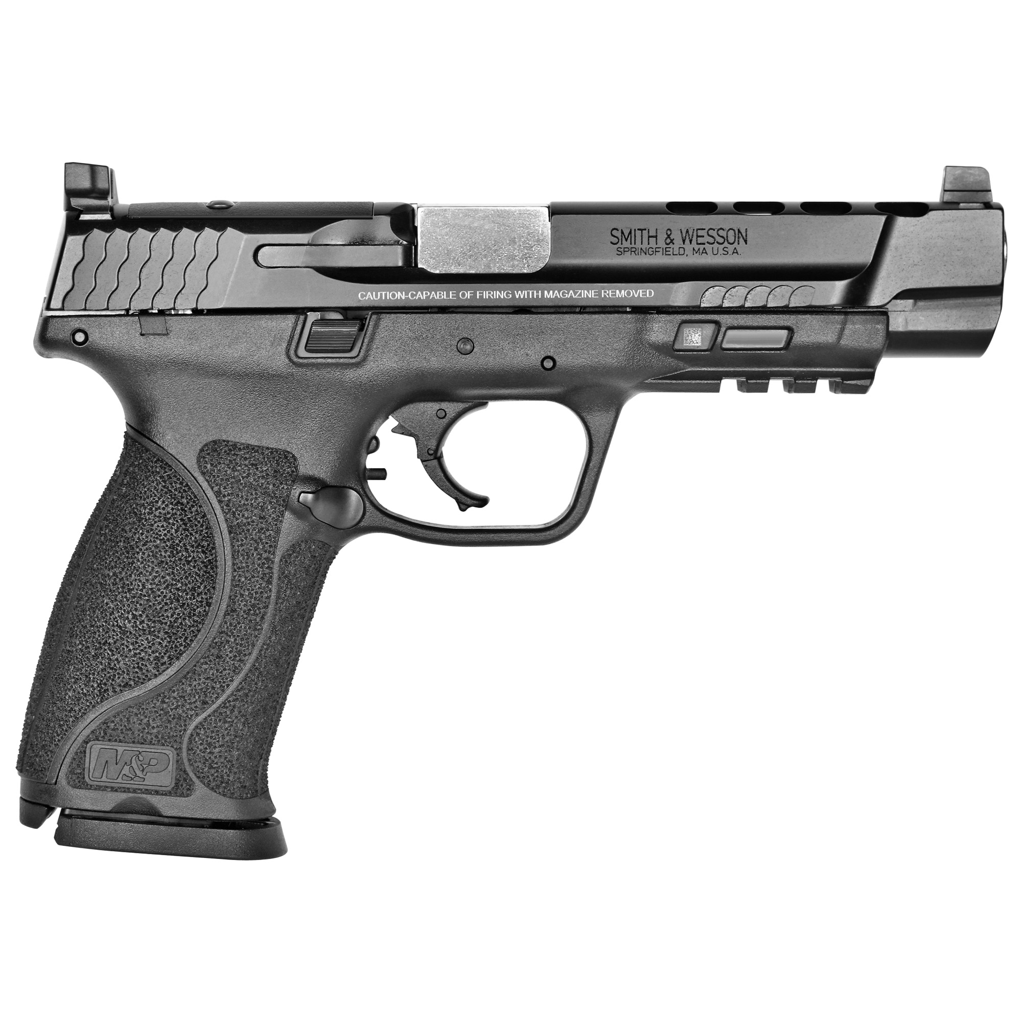 """Smith & Wesson M&P 2.0 Performance Center Striker Fired 5"""" 9mm 17rd Suppres-img-1"""