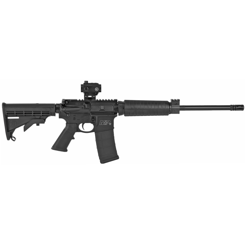 "Smith & Wesson M&P 15 Sport II AR 16"" 5.56 NATO 30rd Mini Red-Dot Optic - B-img-1"
