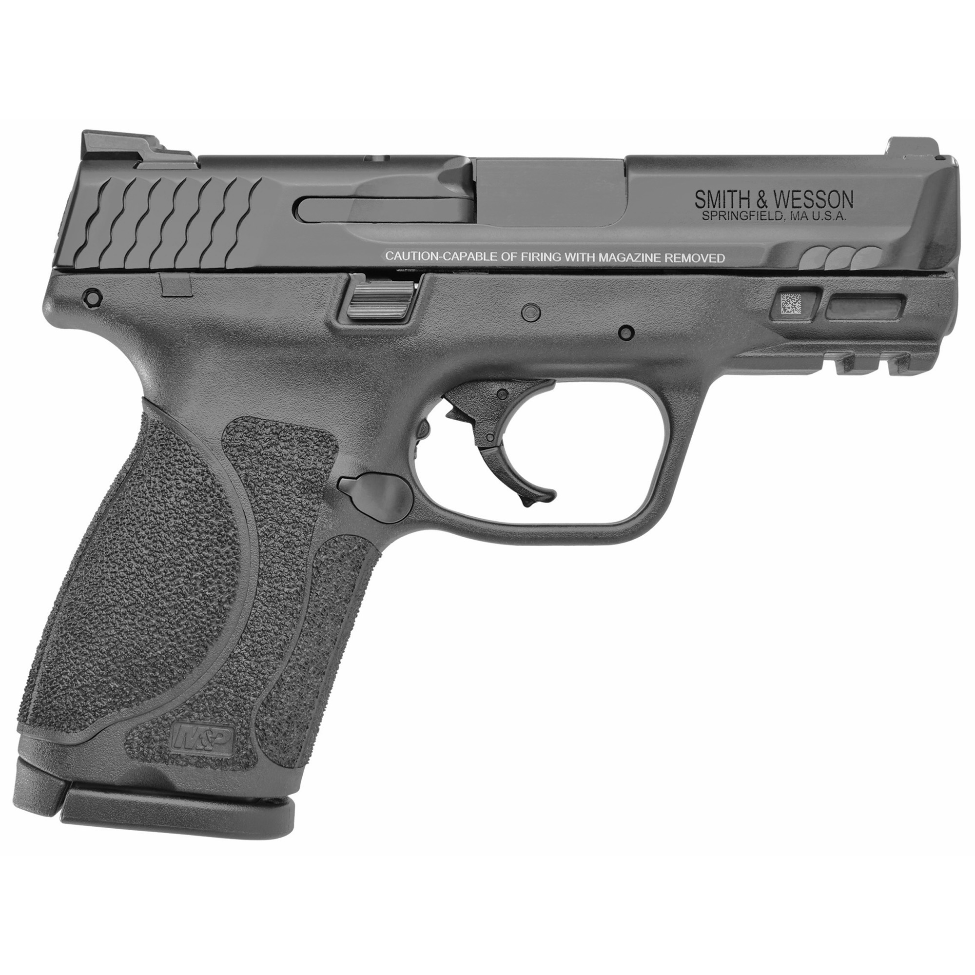 """Smith & Wesson M&P 2.0 Striker Fired 3.6"""" 9mm 10rd 3 Dot - Black-img-1"""