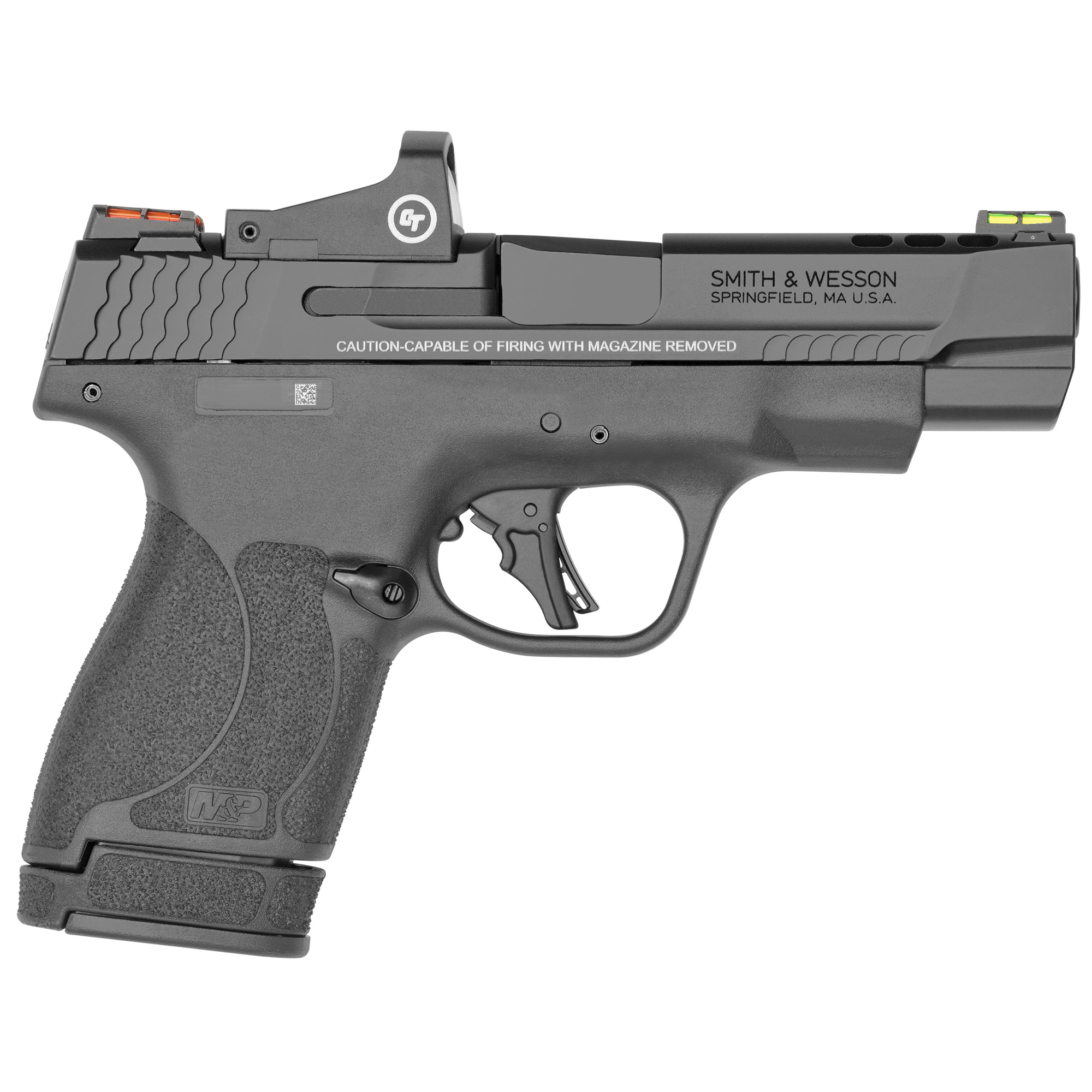 """Smith & Wesson Shield Plus Performance Center Striker Fired 4"""" 9mm 13rd Fib-img-1"""